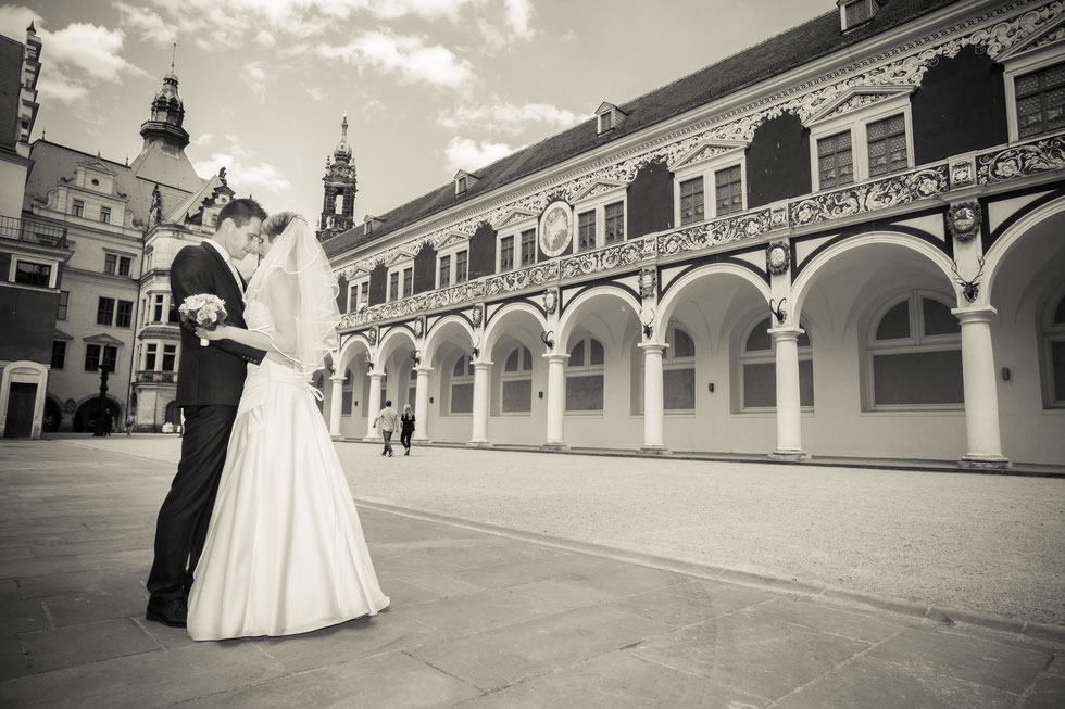 Hochzeit Dresden, Hochzeitsfotograf Dresden, Hochzeit Goetheallee Dresden, Hochzeitsfotos Altstadt Dresden, Hochzeit Lingnerterrassen Dresden