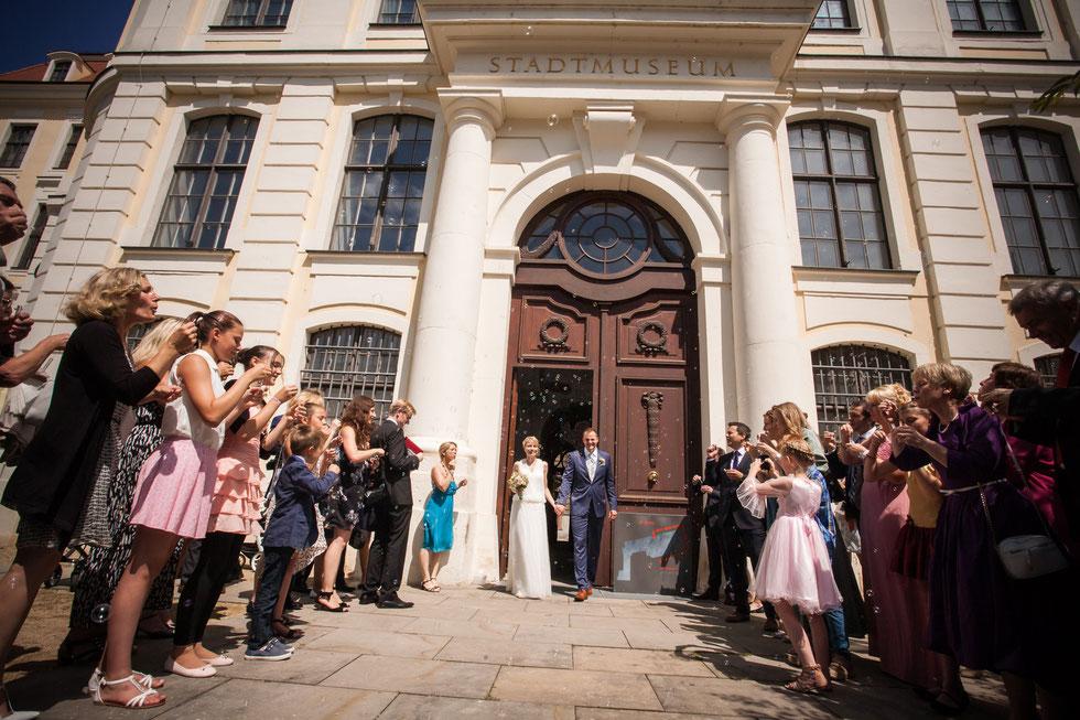 Hochzeitsfotograf Dresden, Hochzeit Landhaus Dresden