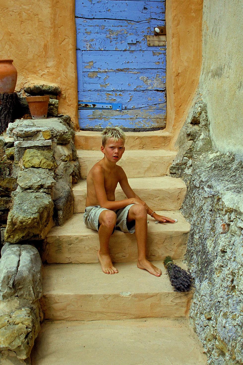 The bleu door  Tijs, 1995