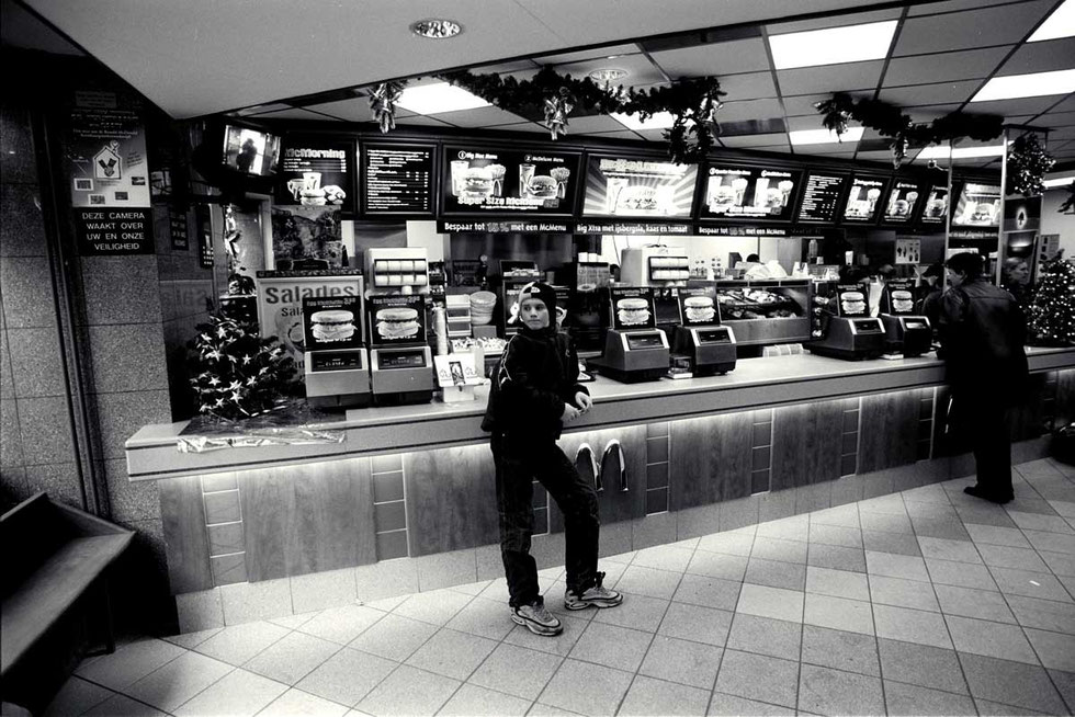 McDonalds, Jens 2001,  Amsterdam