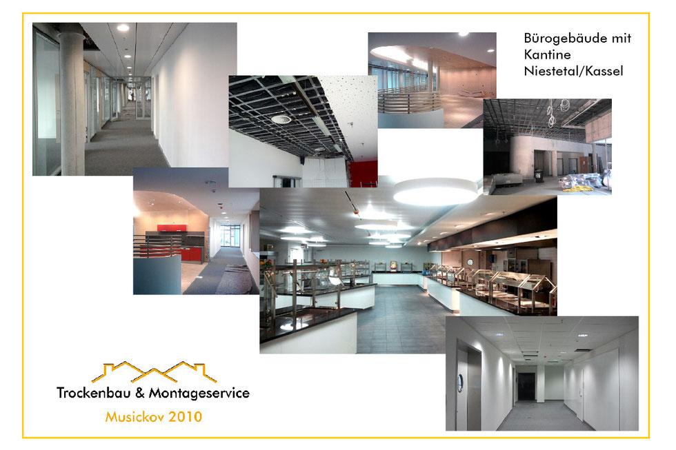 musickov-bau.de Bürogebäude mit Kantine Kassel