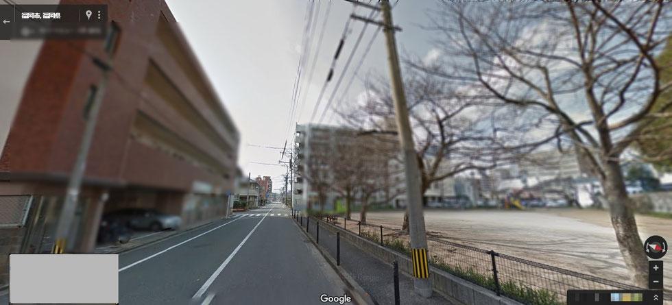 ビルの画像、Googlemapより