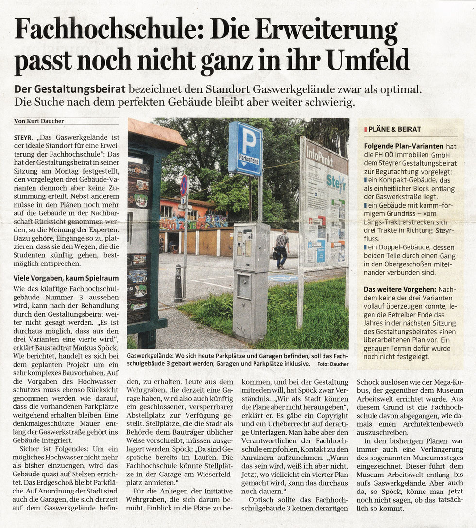 Oberösterreichische Nachrichten, 10. Juni 2015