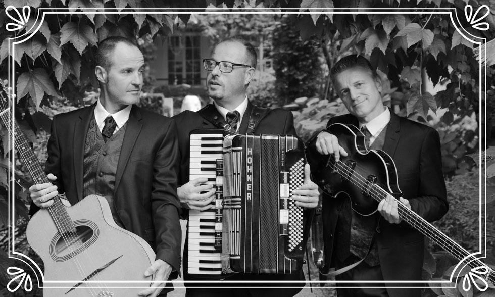 TriOle CD, Triole Akkordeon, Stefan Geier Akkordeon, Stefan Geier CD, Triole Album Le Vent, Le Vent, Akkordeon, Schönes Fräulein, Oberkrainer, Django Reinhardt,