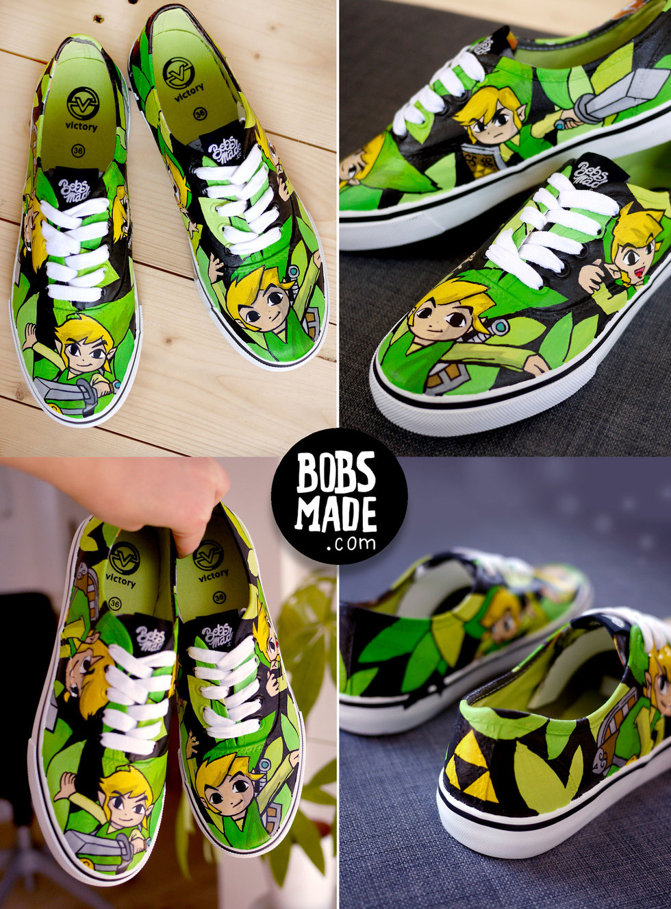 Link Windwaker Shoes Bobsmade