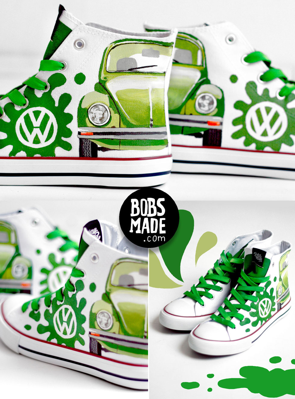bobsmade vw shoes Käfer beetle