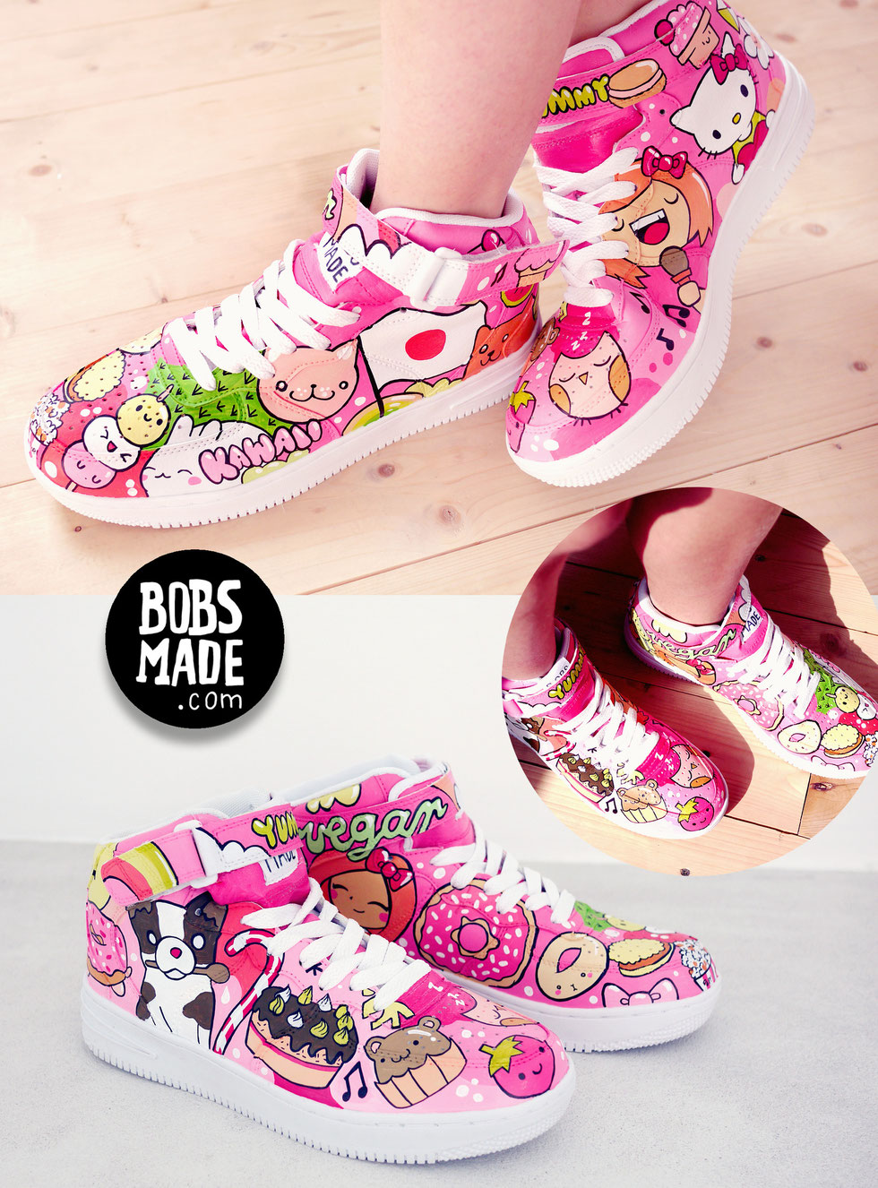 bobsmade candy sneaker