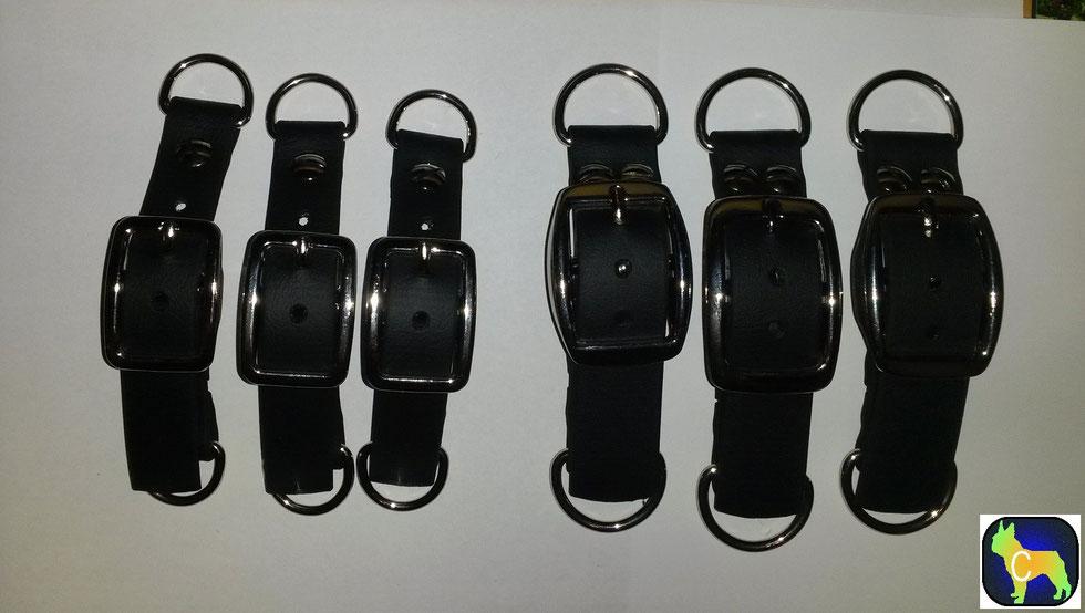 Biothane Adapter, Verschluß Paracord, Hundezubehör , Coopis Fellnasen Zubehör, Hundehalsband, Biothane, Brustgeschirr, Adapter
