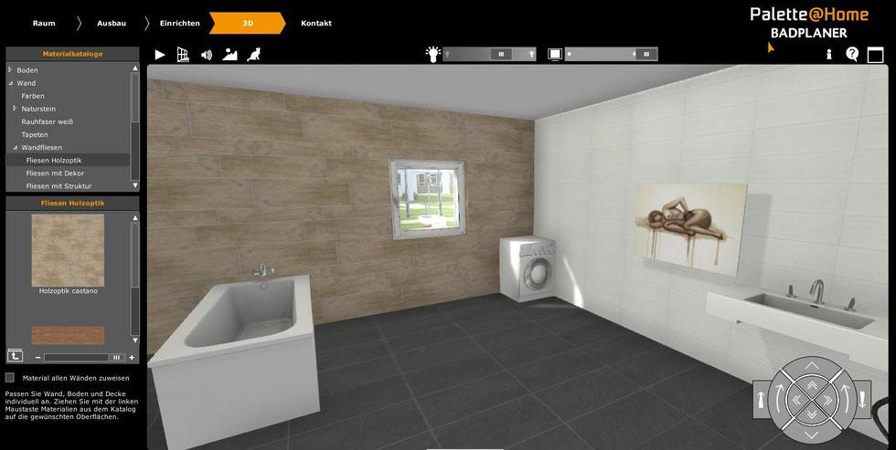planen sie ihr bad online in 3 d fliesenverlegung muth karlsruhe. Black Bedroom Furniture Sets. Home Design Ideas