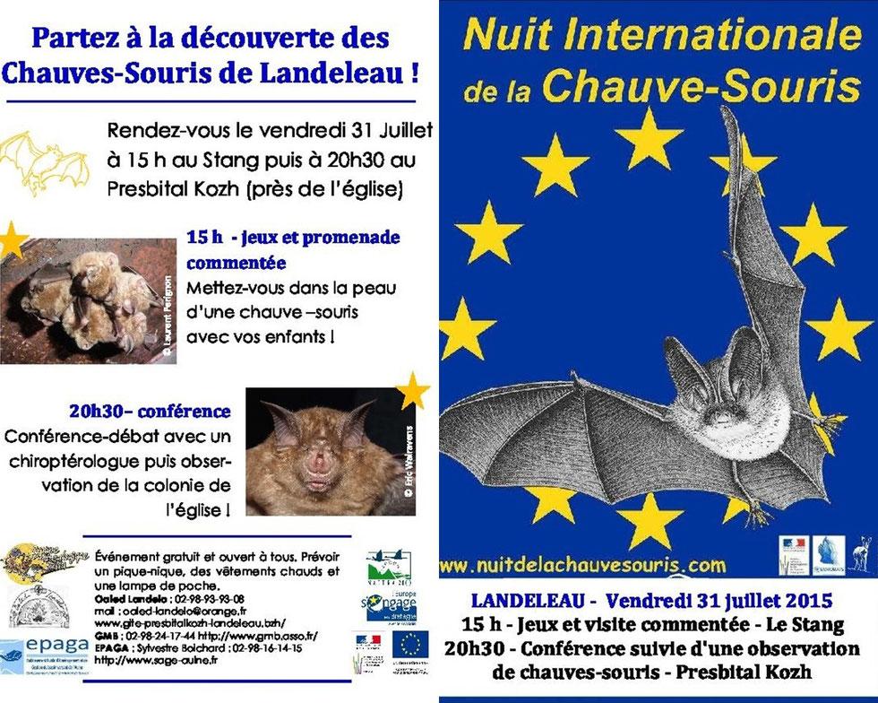 Landeleau sera la capitale de la Chauve-Souris le vendredi 31 juillet 2015