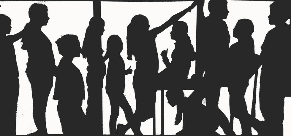 # Schattentheater Schulprojekt  + roter fuchs +