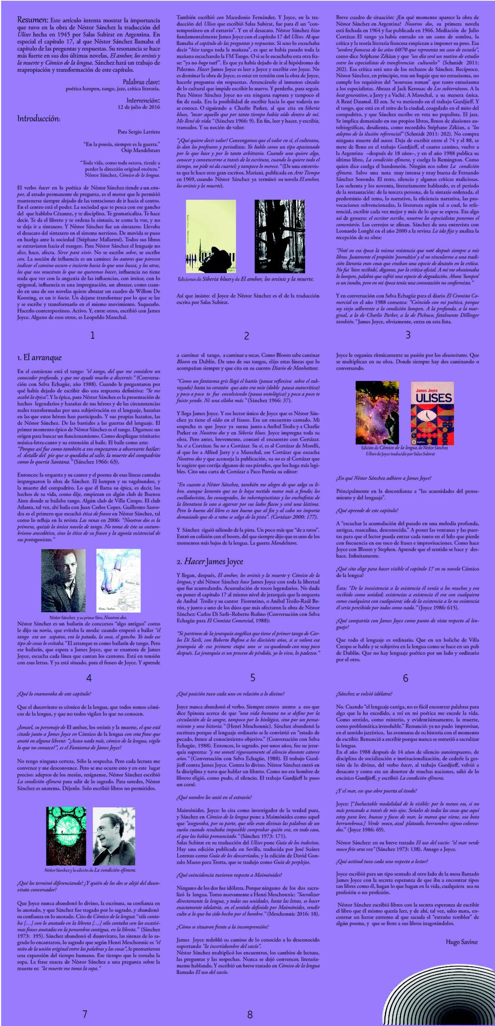 Huir Página Web De Nestorsanchezescritor