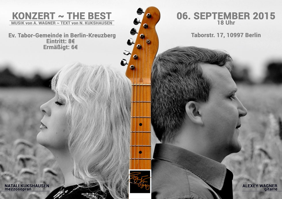 Konzert ~ The Best in der Ev. Tabor-Gemeinde in Berlin Kreuzberg vom 06. September 2015