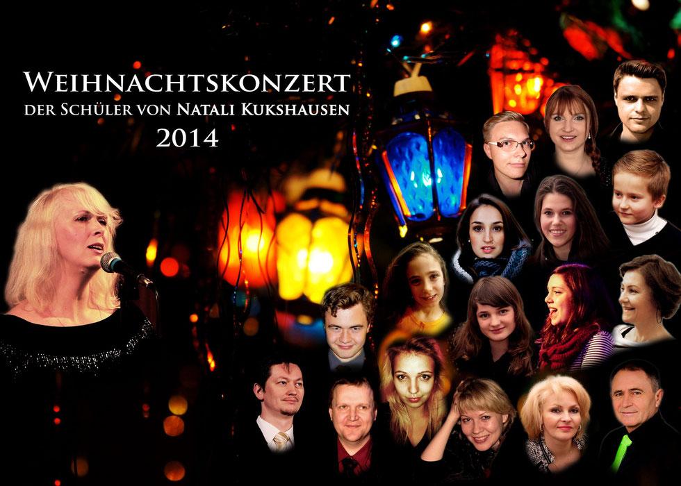 Weihnachtskonzert der Schüler von Natali Kukshausen vom 06.12.2014