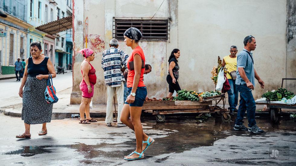Obst und Gemüsestand in Havanna Centro