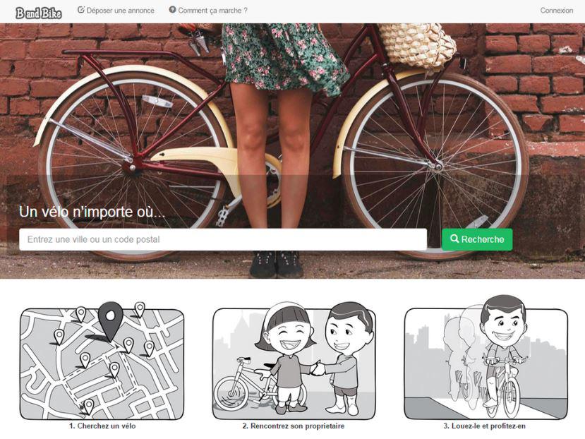 B and Bike - Plateforme française de location entre particulier !