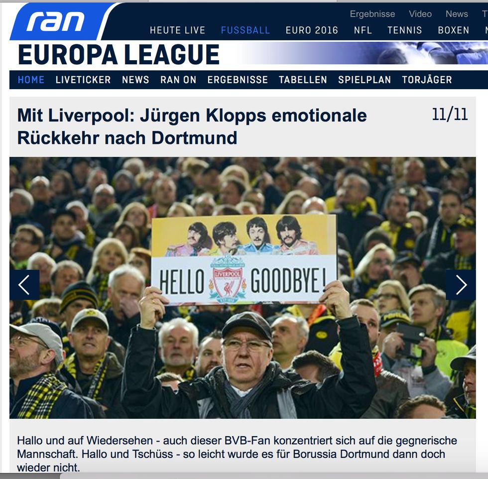 Beitrag auf www.ran.de