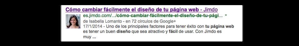 El servicio de autoría de Google te ayuda a posicionarte
