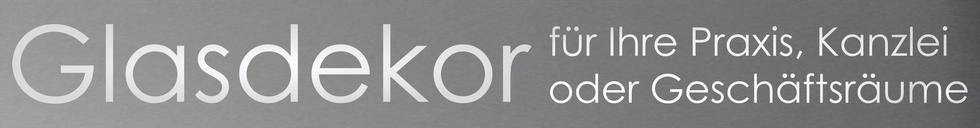 Glasdekor Reinebeck Werbe- & Wraptec Türbeschriftung Fensterbeschriftung Glasbeschriftung Beklebung Kanzelein Praxis Praxen Geschäftsräume dekorieren