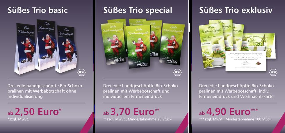 Süßes Trio Angebot