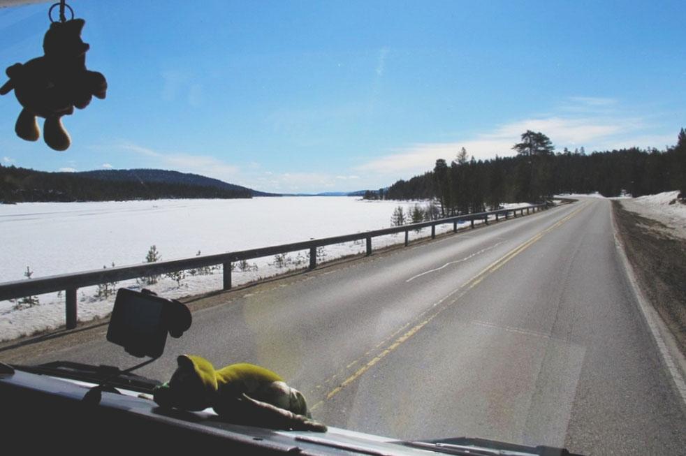 bigousteppes finlande lac inari