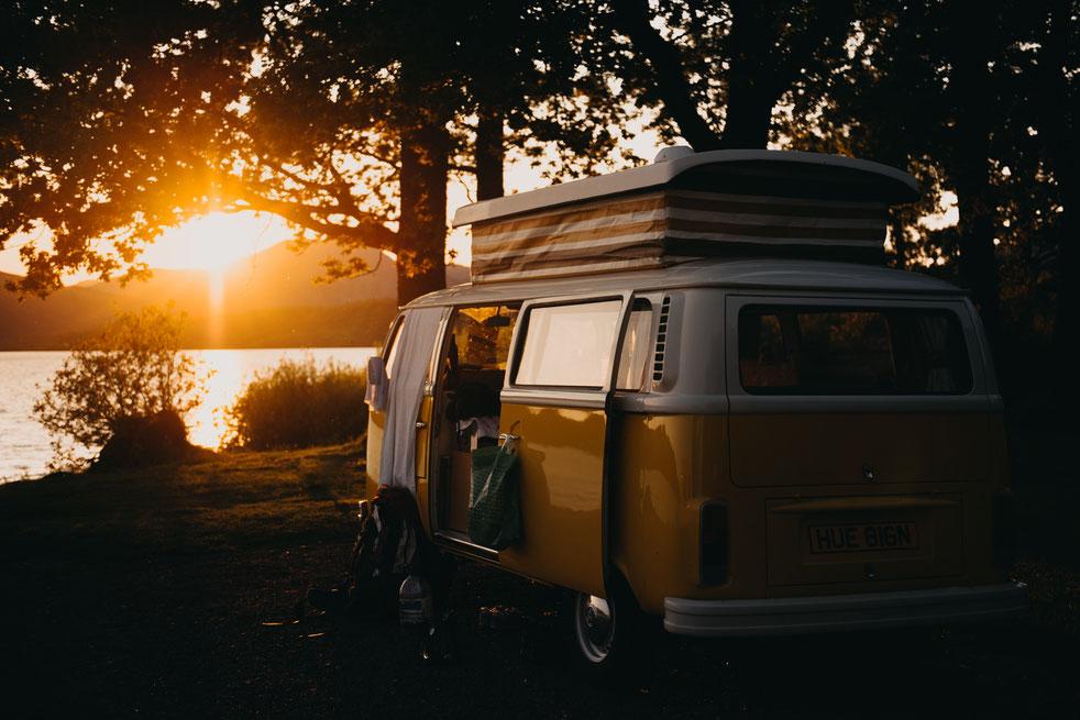 Campen ohne Müll mit dem Van