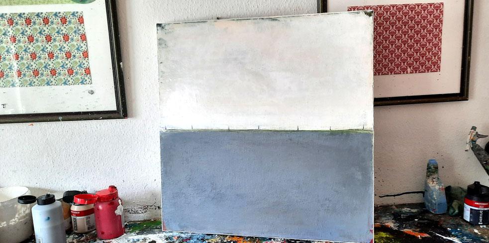 Bild 70 x 70 cm - Landschaftsbild