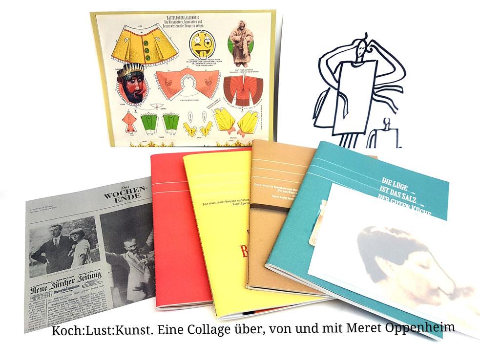 Daniel Spoerri Buch Koch:Lust:Kunst. Eine Collage über, von und mit Meret Oppenheim (Book Livre)