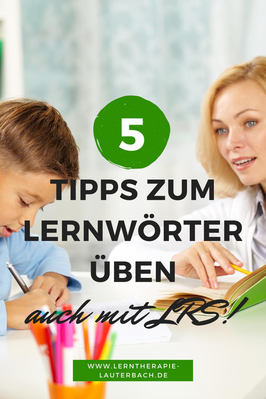 5 Übungen für dein Kind mit LRS – um endlich einen guten Rechtschreibtest zu schreiben!
