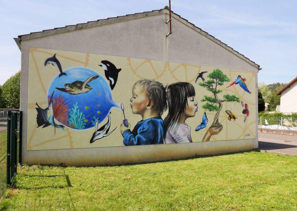 fresque-murale-école-enfant-municipalité-collectivité-locale-territoriale