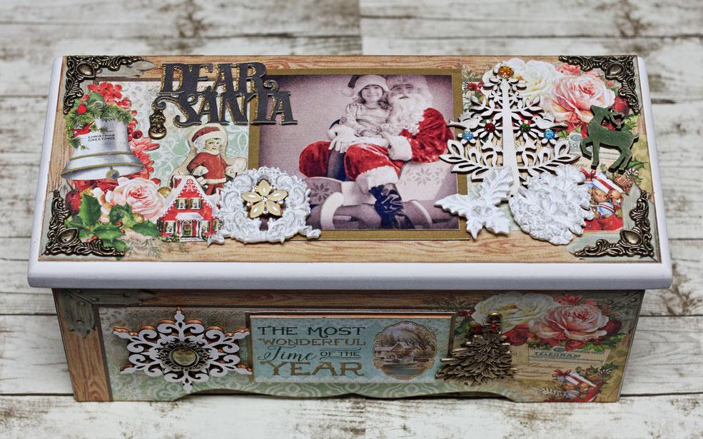 ★12/14アトリエ・クリスマス講座「Shaby Christmas Box」にご参加いただきました皆さん、ありがとうございました(^_-)~❤