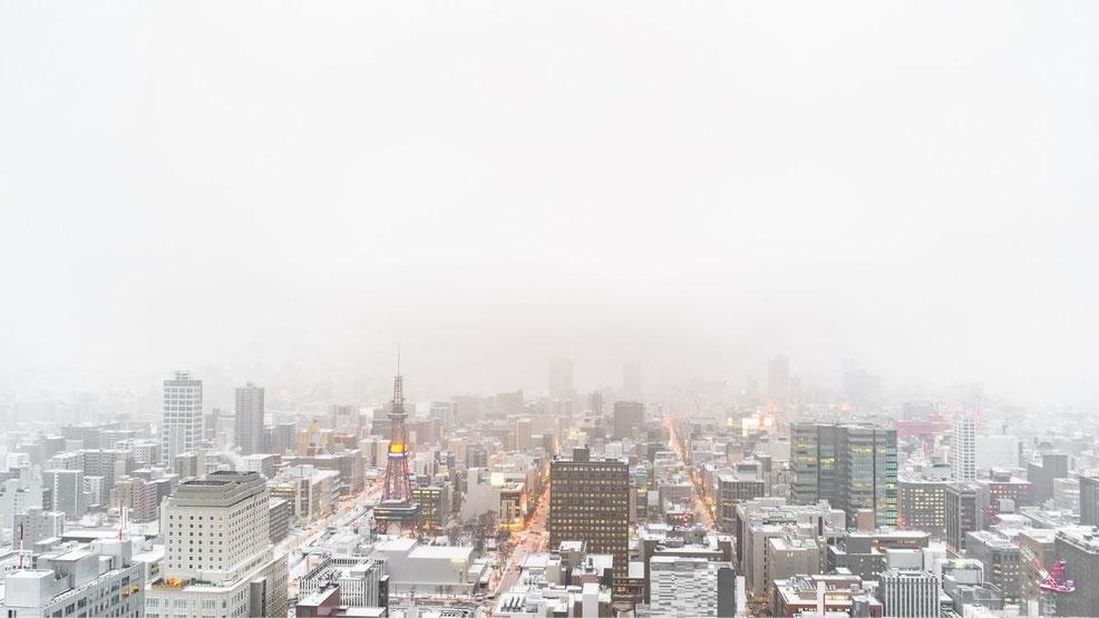 札幌市の大通公園の風景