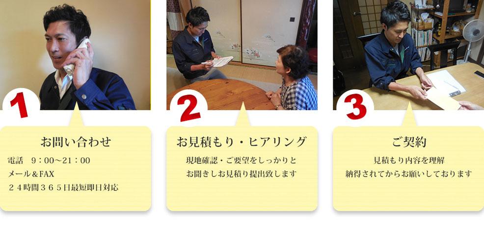 大阪で遺品整理のご依頼受付中 | 作業の流れ