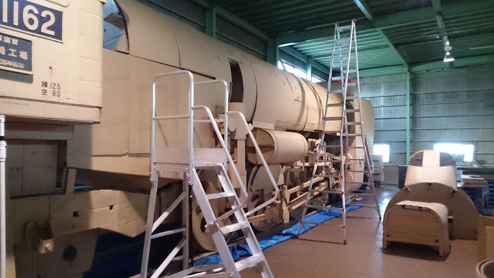 九州ダンボールの工房内部の様子です。