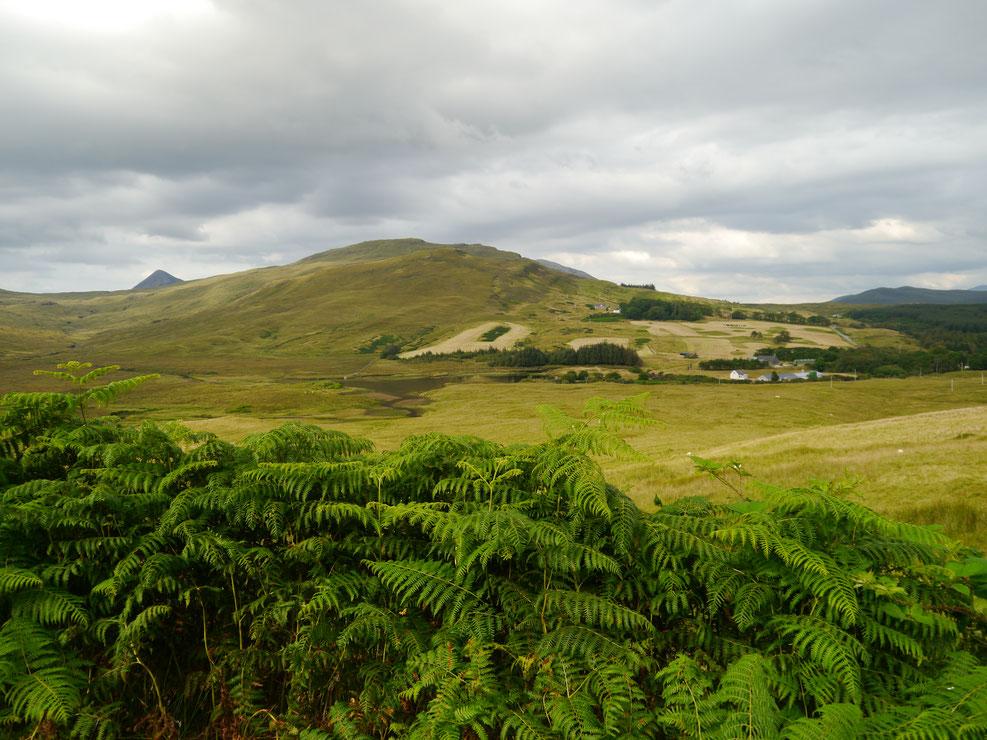 Landschaft pur auf der Isle of Skye, Nähe des Fischerdörfchens Elgol