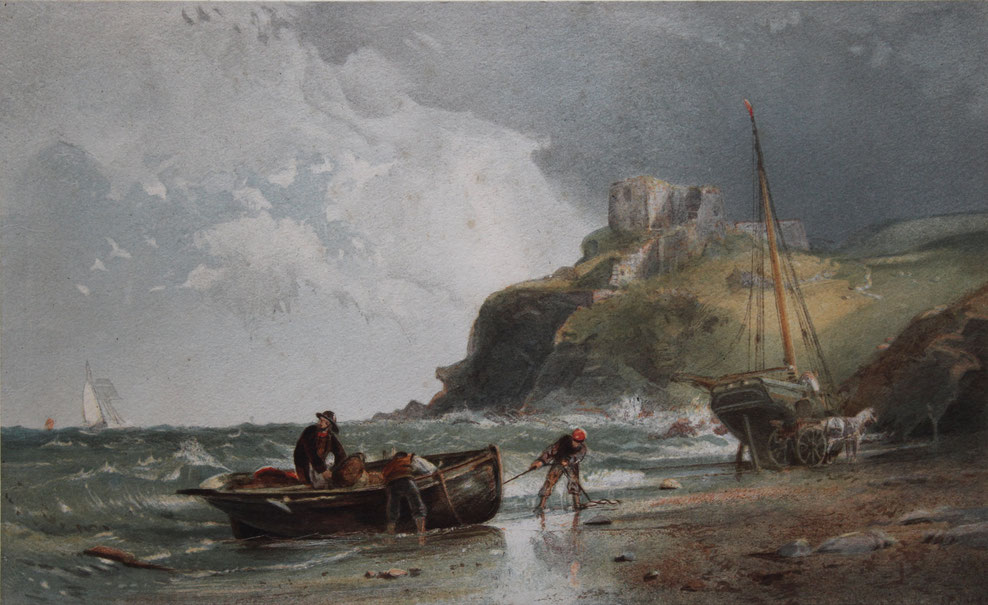 Samuel Philllips Jackson Karl Lang Archiv Büsingen Aquarell watercolor