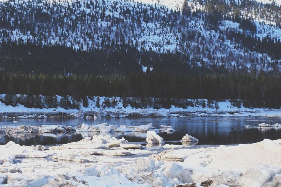 bigousteppes norvège glace neige