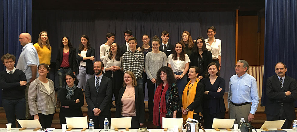 Les candidats et le Jury 2017