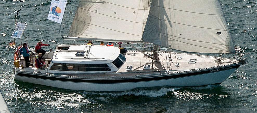kanaren segeln mit Dynamique 50 - Santa Maria