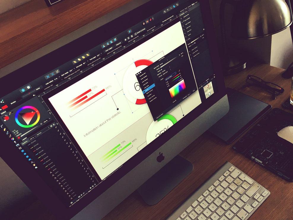 Moderne IT-Technik unterstütz den Design- und Entwicklungsprozess bis hin zur Konstruktion