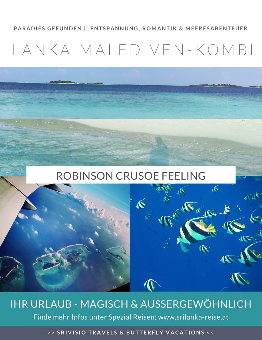 Sri Lanka Urlaub Kombi Malediven