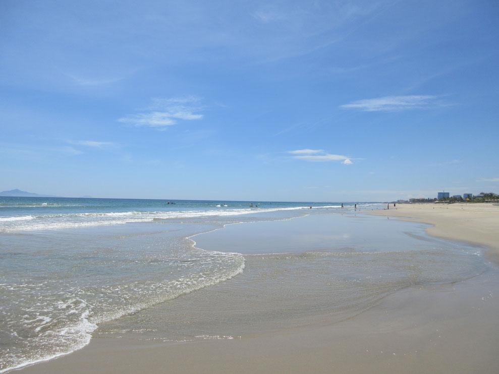 ノンヌオックビーチの美しいビーチ