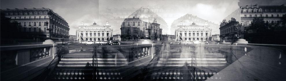 Sténopé panoramique, Paris, Opéra Garnier