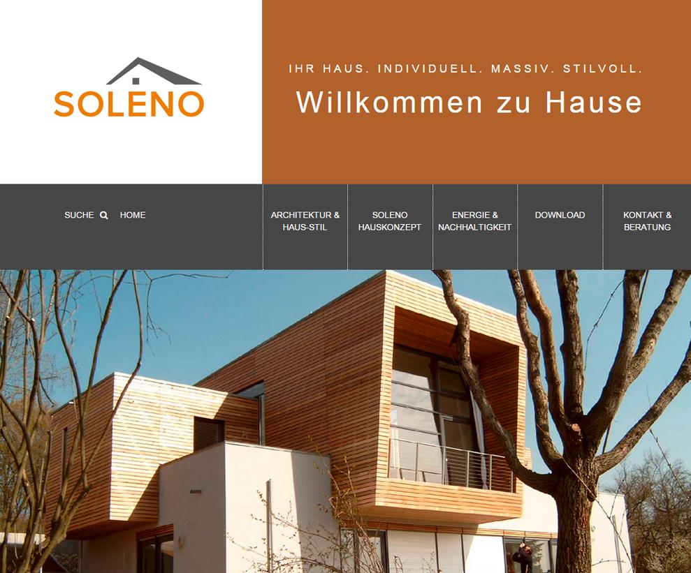 www.soleno-haus.de - Wenisch GmbH leben bauen wohnen