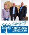 Von links: Jugendleiter Herbert Offenbächer, Günter Daiss, Vizepräsident Sport: Ralf Schönland