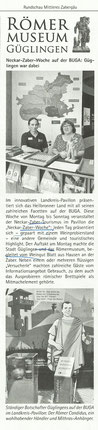 RMZ, 12.7.19, Römermuseum auf der BUGA