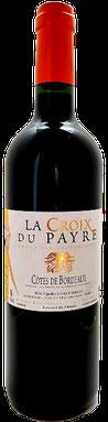 Côtes de Bordeaux rouge, la croix du payre rouge, vins Terra vitis bordeaux