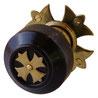doa knob 7851 door knob / gothic style / ¥24,000-