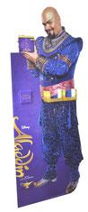 Aladdin Pappfigur - aus Wellpappe oder Wabenplatte