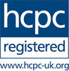 The Health Care Professionals Council logo of which all hearing aid dispensers must be registered with